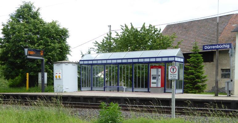Haltepunkt Dürrenbüchig  - Gleis 1