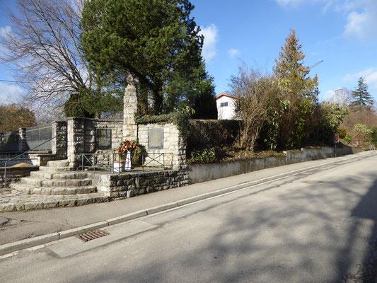 Alter Friedhof im Februar 2016