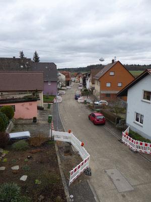 Baustellen in der Dürrenbüchiger Strasse