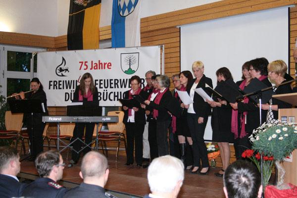 Ehrenabend: Musikalische Umrahmung mit dem Kirchenchor Dürrenbüchig