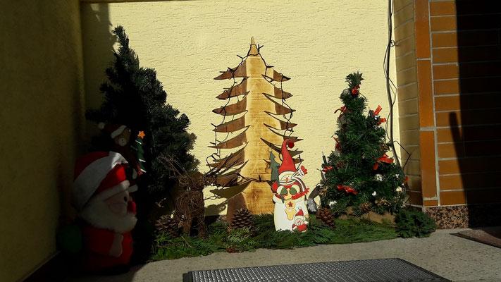 Weihnachtsdeko 2016 - Dürrenbüchiger Strasse