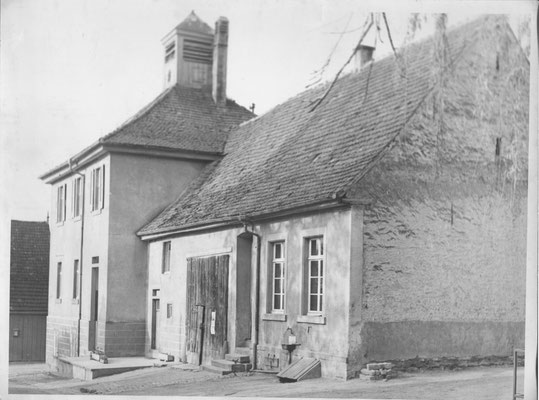 Schulhaus/Betsaal vor 1955