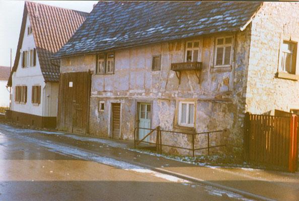 Wohnhaus mit Scheune (ehemals: Dürrenbüchiger Str. 13)