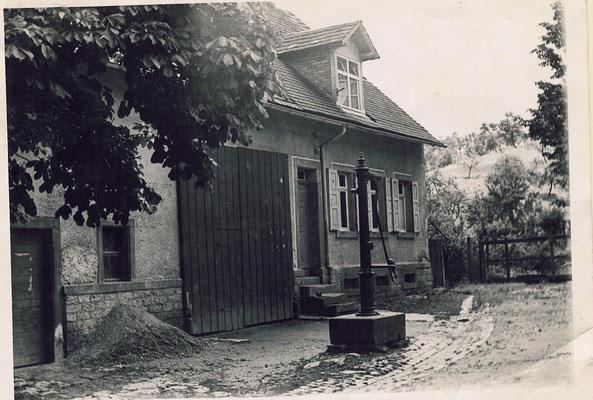 Haus Weegmann 1955