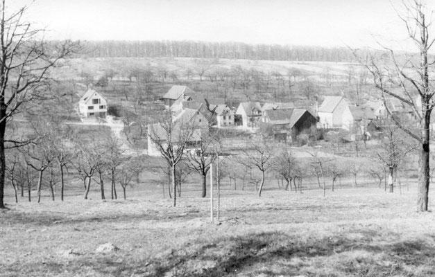 Oberdorf 1958  (Quelle: Helmut Bach)