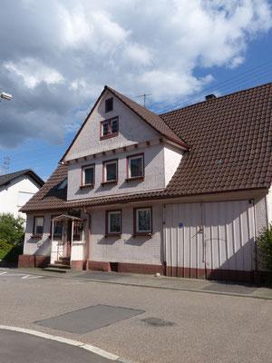 Dürrenbüchigerstr. 21 - Juli 2017 (ehemals Erste Poststelle von Dürrenbüchig)