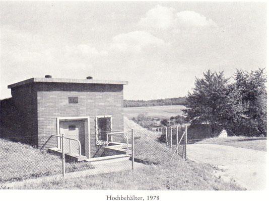 Hochbehälter 1978