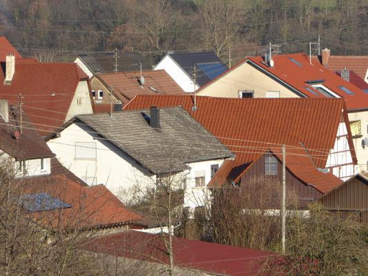 Stromversorgung über die Dächer
