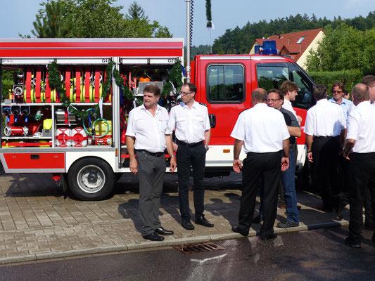 Übergabe des neuen Feuerwehrautos 7.7.2017