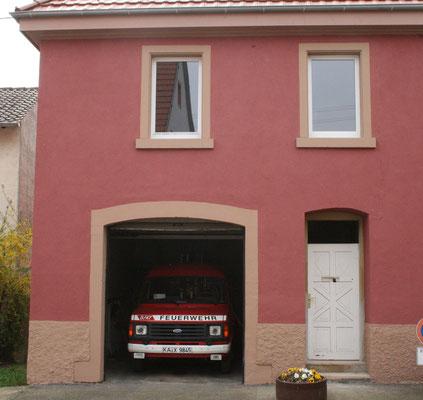 Feuerwehr im alten Rathaus/Ortsverwaltung