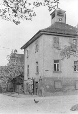 Alte Kirche ( Betsaal) um 1952