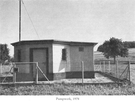 Pumpwerk 1978
