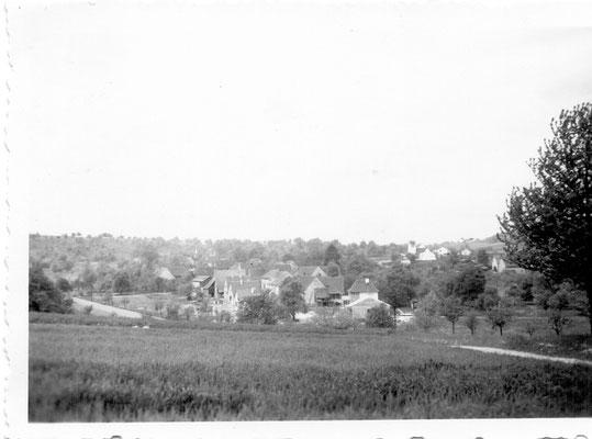 Blick vom Rinklinger Buckel ca. 1960