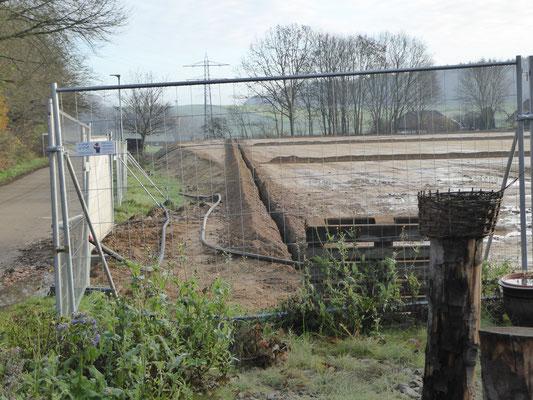 Wasserleitungen zur Bewässerung