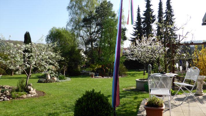 Ein Garten in der Toscana ?
