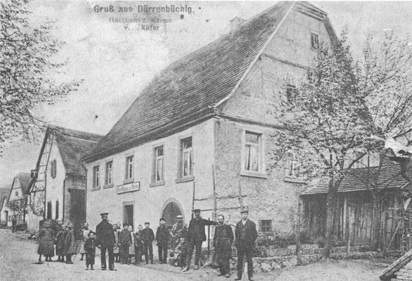 Gasthaus Krone 1910