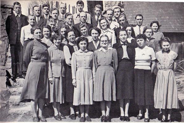 Kirchenchor 1953  Leitung: Hauptlehrer Wolfert
