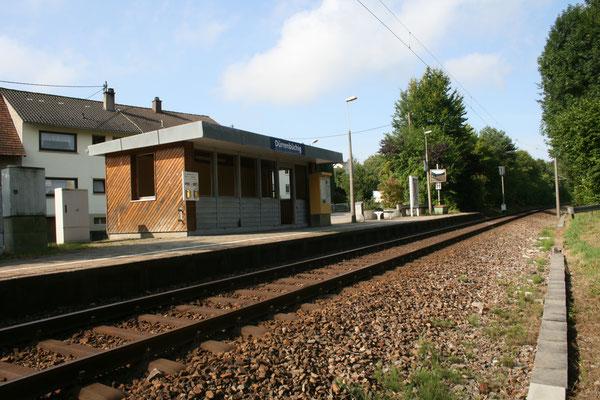 Bahnhof bis 2009