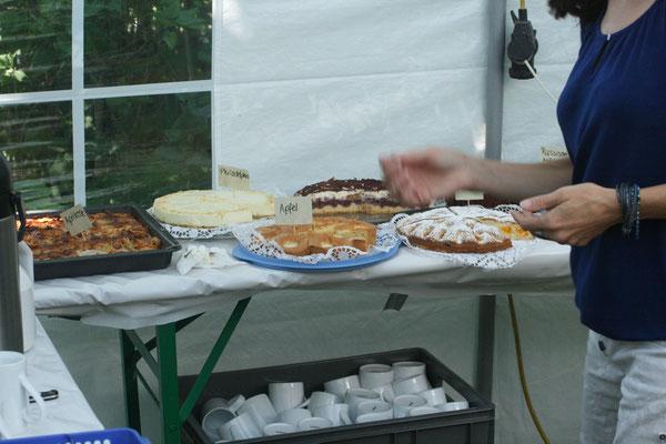 Kuchenzelt 2016 (eine kleine Auswahl der 40 Kuchen)