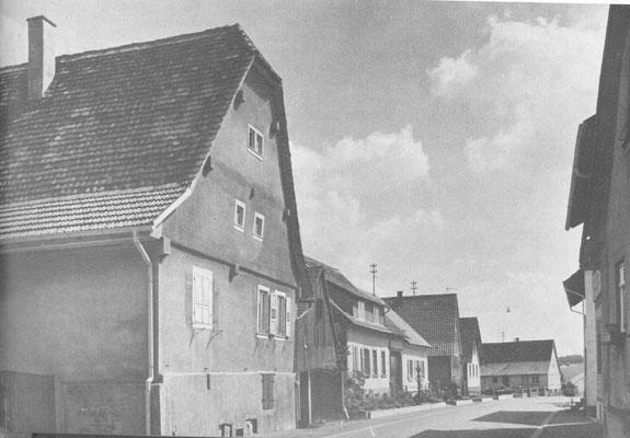 Unterdorf  (Dürrenbüchiger Str. 22 - Jäger-)