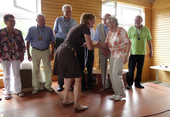 Kate Seith: Gründungsmitglied und mit 84 Jahren immer noch dabei