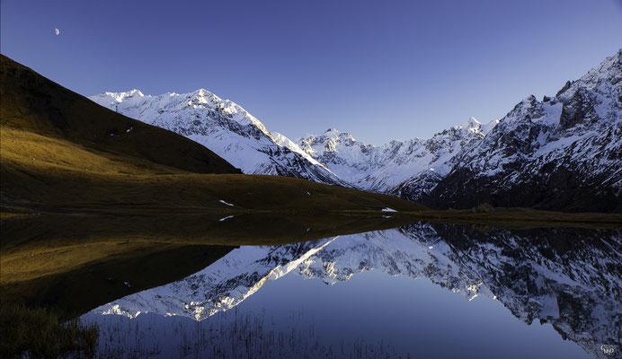Lac du Pontet, Hautes-Alpes.