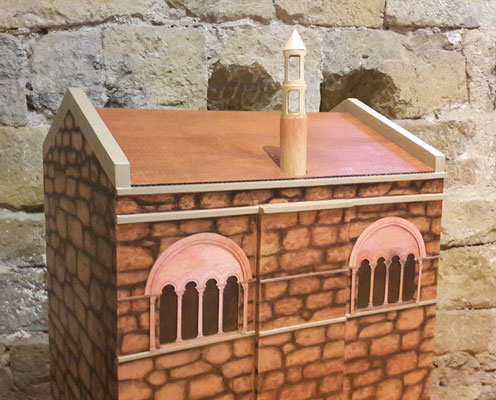"""Tours en carton Espace Jeu Enfant pour le Château de Castelnau (Cf. """"Sur mesure"""")"""