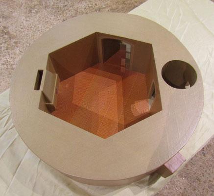 Maquettes en carton - La Tour d'Artillerie