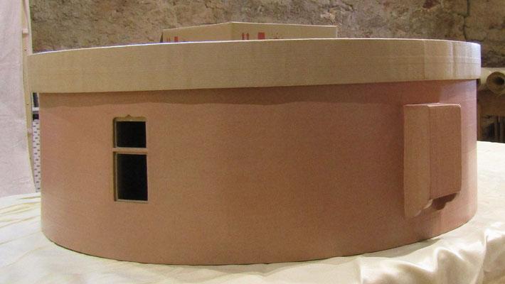 Maquette en carton - La Tour d'Artillerie