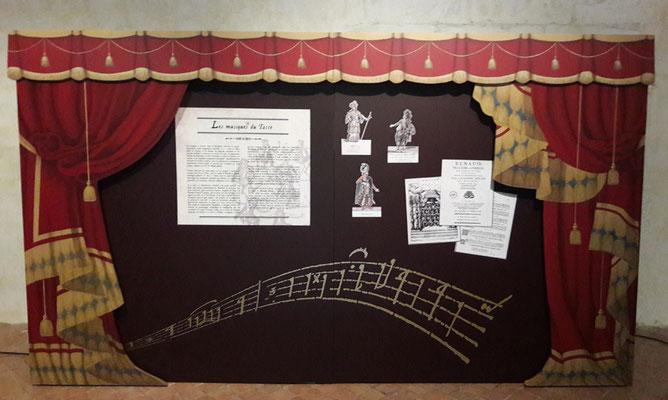 1er ét. suite - Panneau Opéra