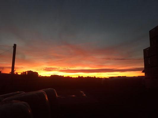 Sonnenuntergang Oktober 2017