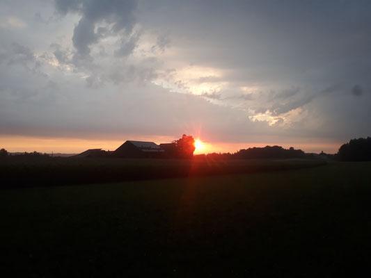 Sonnenaufgang Juli 2018