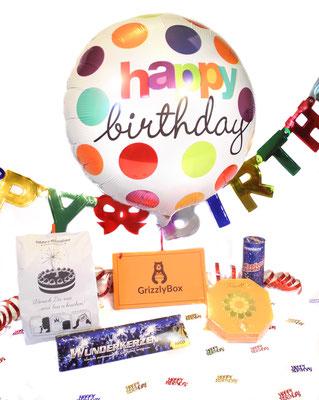 Geburtstag, Überraschung, Geschenke