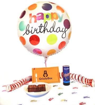 Bday, Geburtstagsgeschenk, Überraschung, online Geschenk