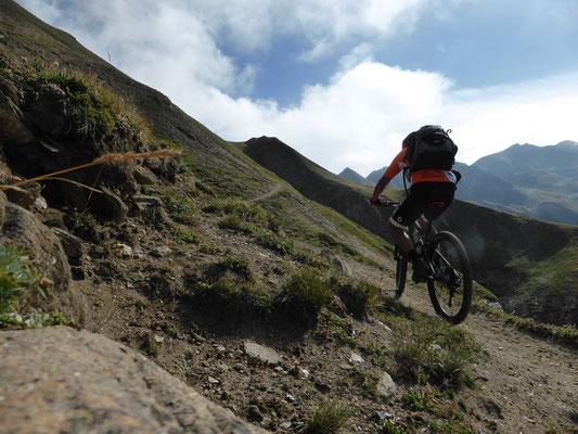 Trail zum Saflischpass