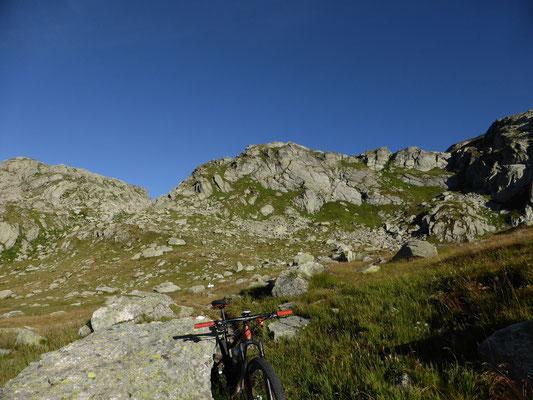 Abstieg vom Albrunpass