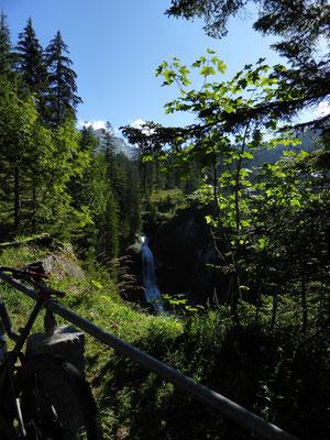 Wasserfall im Gental
