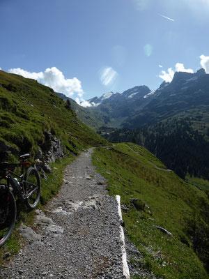Trail von der Engstlenalp...