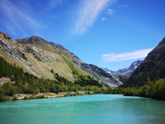Schöner See gleich neben dem Campingplatz
