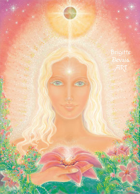 Brigitte-Devaia ART - Sternenfrau Mahoa - Engel der Liebe und körperlichen Liebe