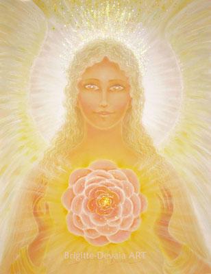 Brigitte-Devaia ART - Amaania, Engel der Schönheit des Herzens