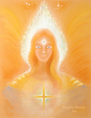 Brigitte-Devaia ART - Avineeah - Engel der aufflammenden Erkenntnis
