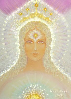 Brigitte-Devaia ART - Amalaia - Engel der mitfühenden Liebe