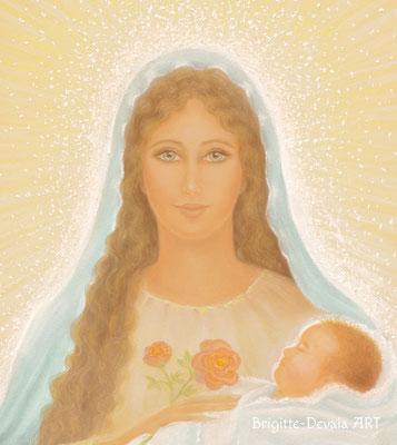 Brigitte-Devaia ART - Maria - Madonna - Meisterin der bedingungslosen Liebe