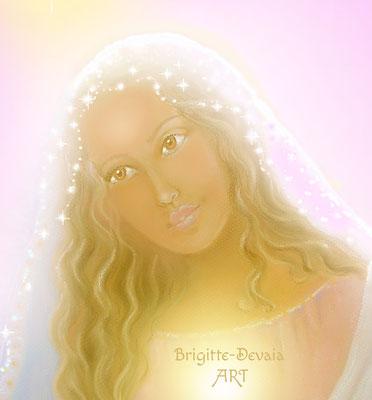 Brigitte-Devaia ART - Maria Magdalena im Licht - Portrait