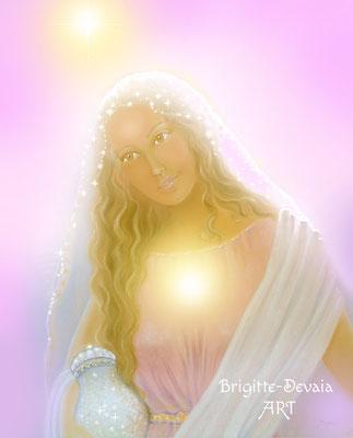 Brigitte-Devaia ART - Maria Magdalena im Licht