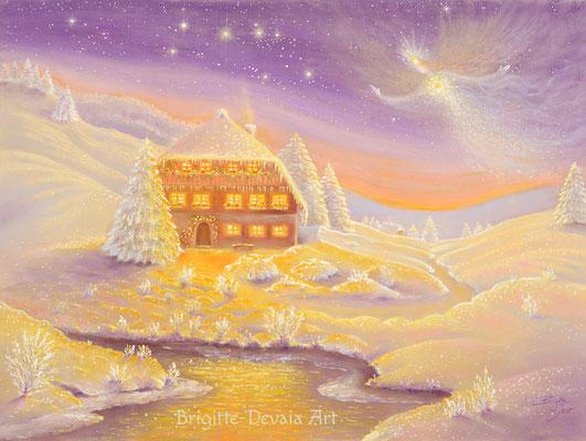 Brigitte-Devaia ART - Winterzauber Engel