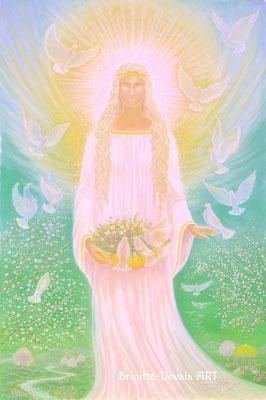Brigitte-Devaia ART - Engel des Friedens, der Ruhe und Harmonie