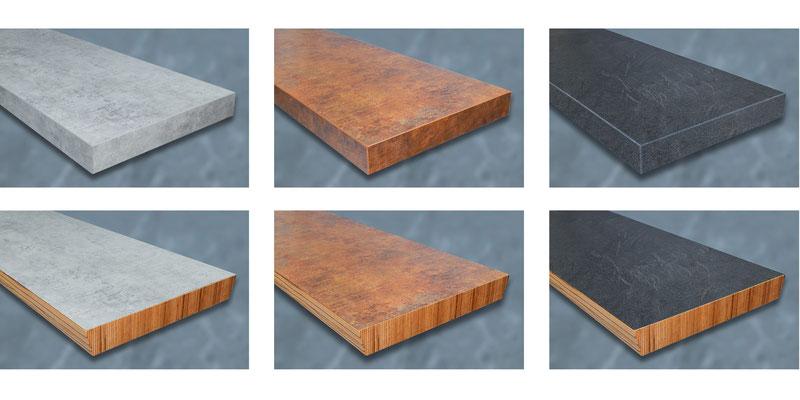 Bucher Treppen - DAIMONT Stufen - 3 Design-Oberflächen zur Auswahl