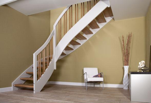 Wangentreppe - Bucher Treppen